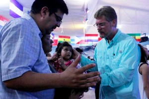 Ministering to a Family in Acuna, Coahuila