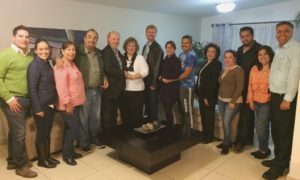 Dinner with the Charisma Church leadership in Chihuahua